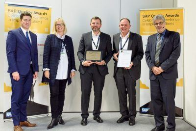 "AGILITA gewinnt SAP Quality Award in den Kategorien ""Fast Delivery"" und ""Innovation"""