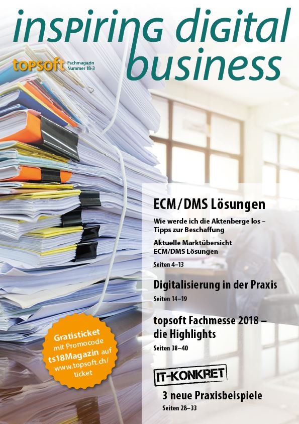 topsoft Fachmagazin: Inspiring Digital Business