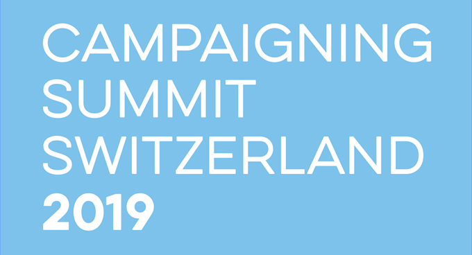 7. Campaigning Summit Switzerland
